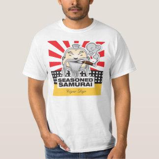 Samurai temperado camiseta