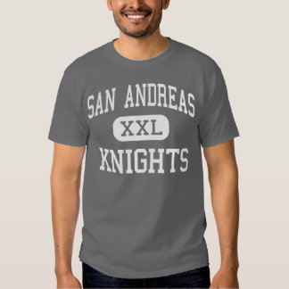 San Andreas - cavaleiros - alto - Hollister Camisetas