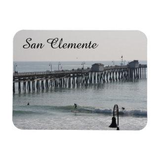 San Clemente Califórnia Foto Com Ímã Retangular