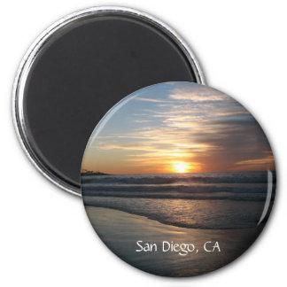 San Diego, ímã Ímã Redondo 5.08cm