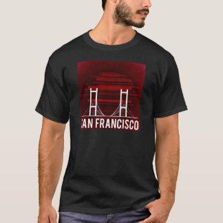 San Francisco Califórnia golden gate bridge Camiseta