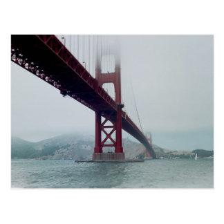 San Francisco golden gate bridge - cartão
