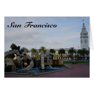 San Francisco o cartão de Embarcadero