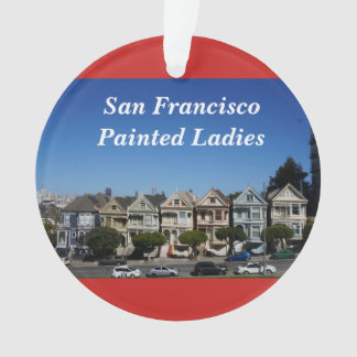 San Francisco pintou o ornamento do vermelho das