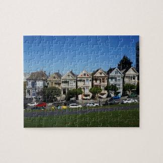 San Francisco pintou o quebra-cabeça de serra de