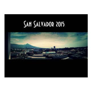 San Salvador 2015 Cartão Postal