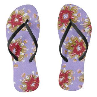 Sandálias cor-de-rosa de Christie