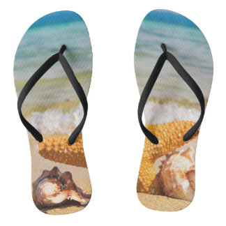 Sandálias de banho Flip fracasso estrela de lago