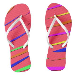 Sandálias de néon
