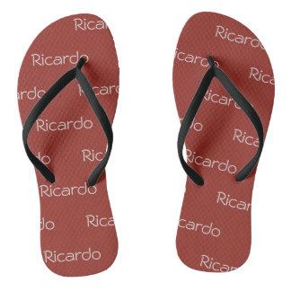sandálias de Ricardo