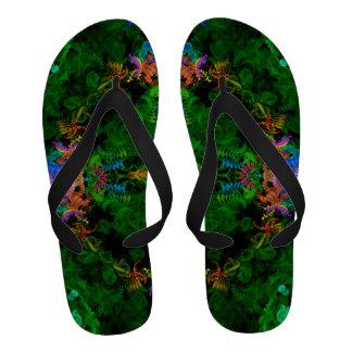 Sandálias do jardim da sereia chinelo
