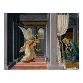 Sandro Botticelli - o aviso Cartão Postal