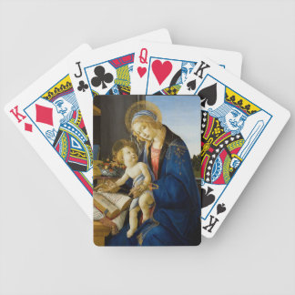 Sandro Botticelli - o Virgin e a criança Baralhos Para Poker