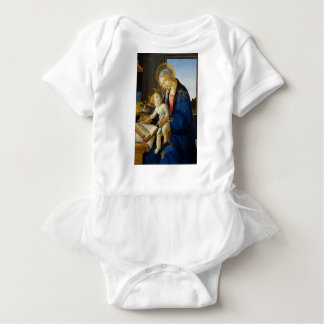Sandro Botticelli - o Virgin e a criança Body Para Bebê