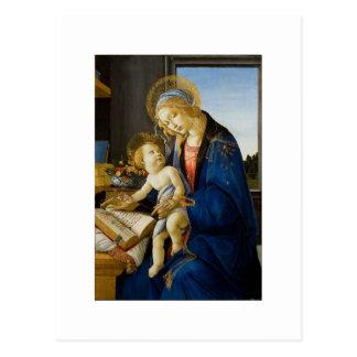 Sandro Botticelli - o Virgin e a criança Cartão Postal