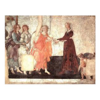 Sandro Botticelli: Venus & benevolências que ofere Cartões Postais