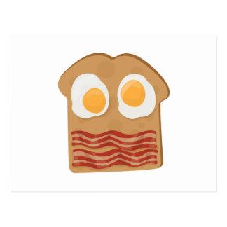 Sanduíche do pequeno almoço cartão postal