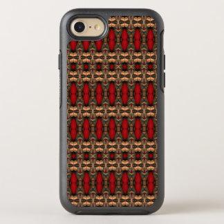 Sangue abstrato do café & do boi da arte da capa para iPhone 8/7 OtterBox symmetry