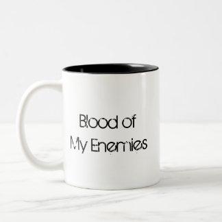 Sangue de minha caneca dos inimigos