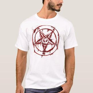 Sangue manchado camiseta