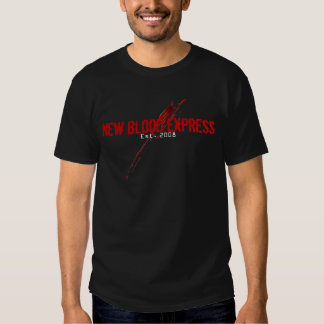 Sangue novo expresso tshirts