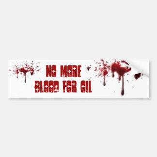 Sangue para o óleo adesivos