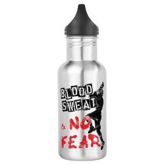 Sangue, suor e nenhuma garrafa do lacrosse do medo