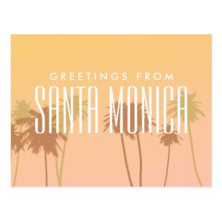 Santa Monica Cartão Postal