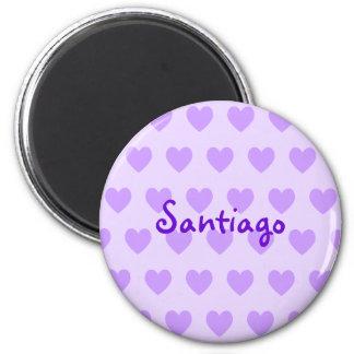 Santiago no roxo imã de refrigerador