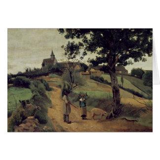 Santo-Andre-en-Morvan, 1842 Cartao