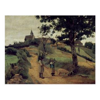 Santo-Andre-en-Morvan, 1842 Cartão Postal