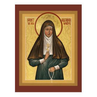 Santo Elizabeth o cartão novo da oração de Martryr