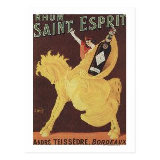 Santo Esprit de Rhum - Promo de Andre Teissedre Cartão Postal