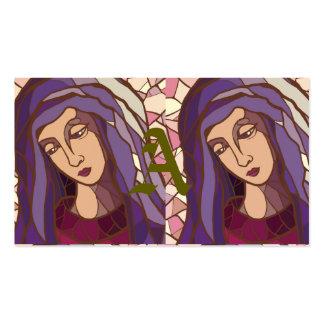 santo mary, mãe do deus, imagem gráfica moderna, r cartão de visita