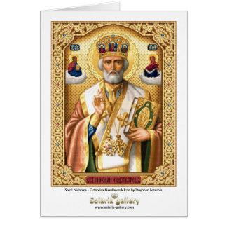 Santo Nicholas - cartão