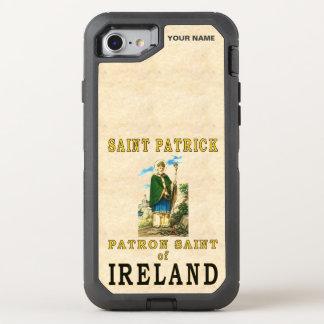 SANTO PATRICK (santo padroeiro de Ireland) Capa Para iPhone 8/7 OtterBox Defender