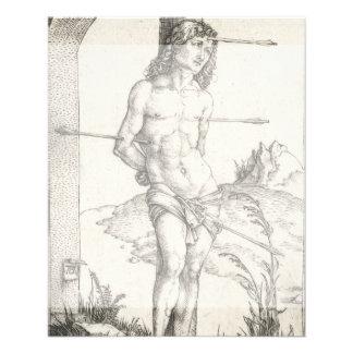 Santo Sebastian amarrado a uma coluna por Albrecht Panfleto