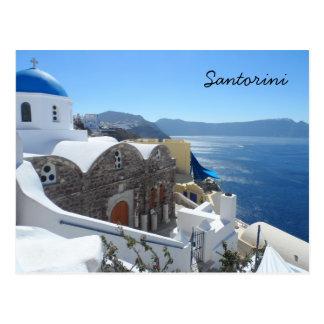 Santorini, piscina cartão postal