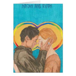 Santos estranhos: Cartões de Naomi & de Ruth