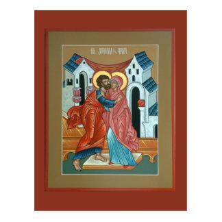 Santos Joachim e cartão de Anna