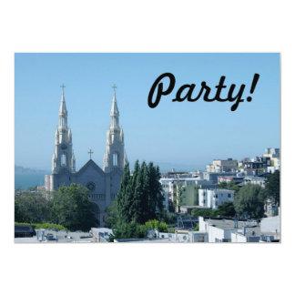 Santos Peter e igreja de Paul Convites Personalizado