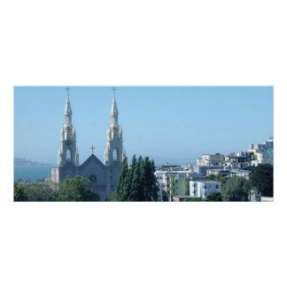 Santos Peter e igreja de Paul Panfletos Informativos