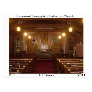 Santuário de Immanuel Cartão Postal