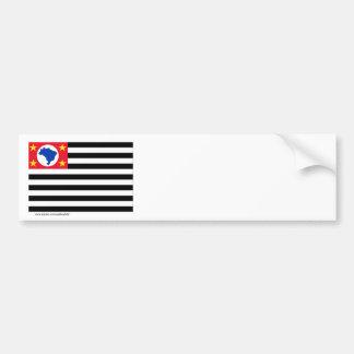 São Paulo, bandeira de Brasil Adesivo Para Carro