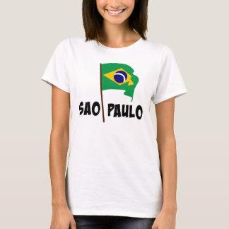 Sao Paulo, bandeira de Brasil Camiseta