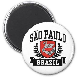 Sao Paulo Ímã Redondo 5.08cm