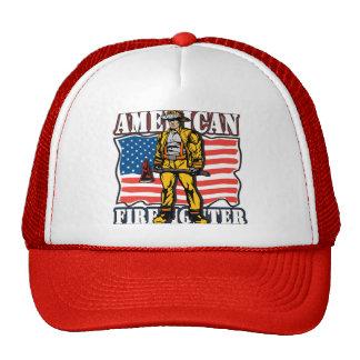 Sapador-bombeiro americano boné