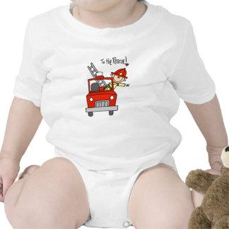 Sapador-bombeiro aos t-shirt e aos presentes do