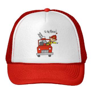 Sapador-bombeiro aos t-shirt e aos presentes do sa bonés