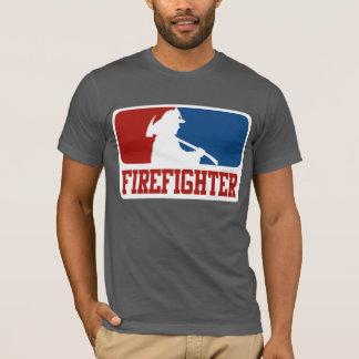 Sapador-bombeiro da liga principal camiseta